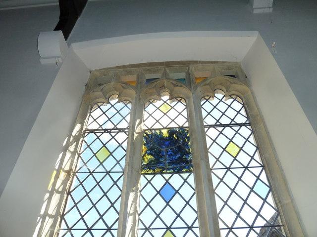 St. Peter, Hinton St. Mary: Millennium window (IV)