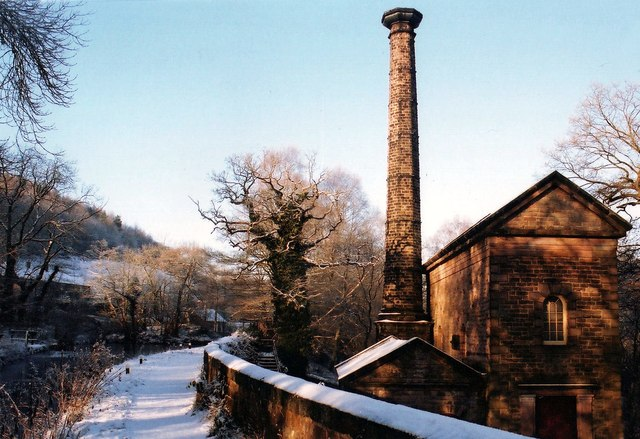 Leawood Pumphouse in the Snow