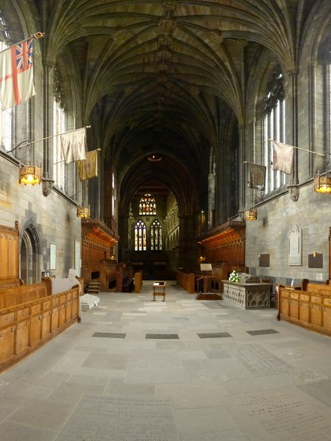 Paisley Abbey: the choir