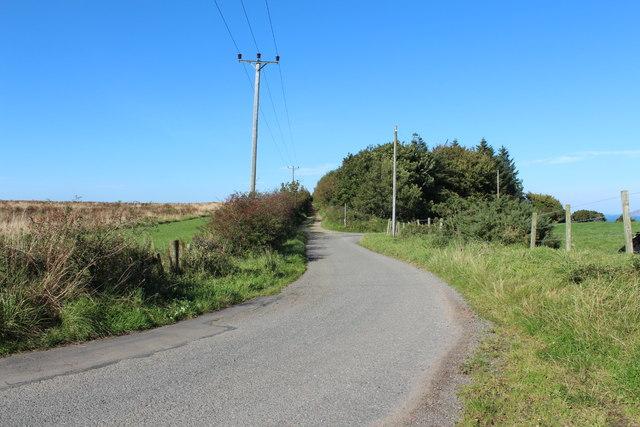 Road to Stranraer near Gallowhill