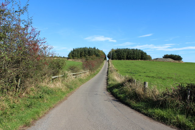 Road to Gallowhill Farm