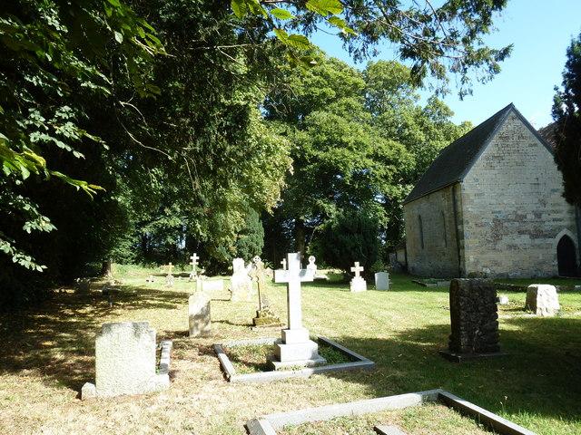 St Nicholas, Manston: gravestones