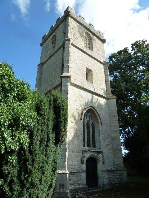 St Nicholas, Manston: tower