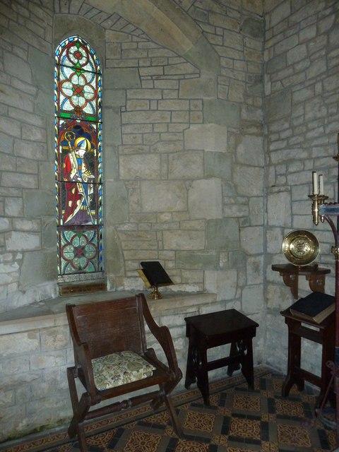Inside St Nicholas, Manston (a)