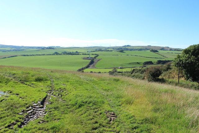 Farmland near Hillside Piggeries