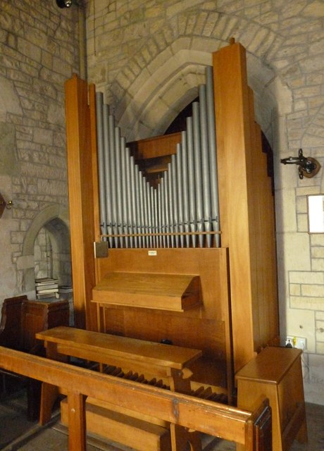 St Nicholas, Manston: organ