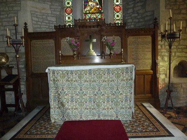 Inside St Nicholas, Manston (b)