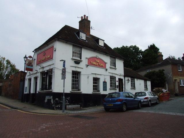 The Three Tuns, Faversham