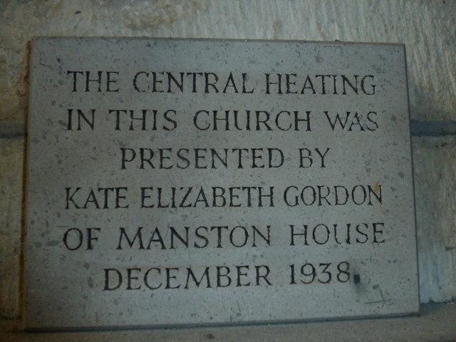 St Nicholas, Manston: warm appreciation expressed