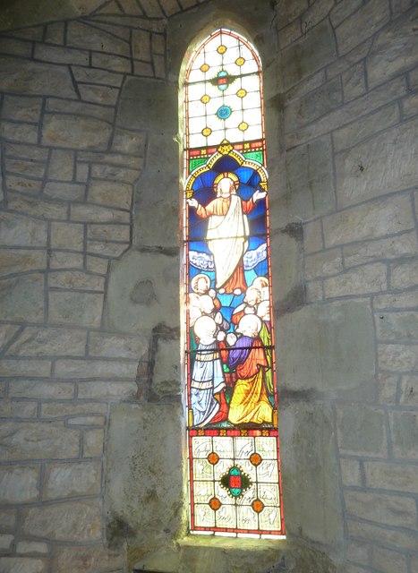 St Nicholas, Manston: stained glass window (C)