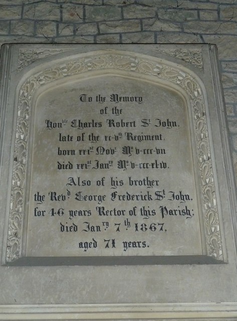St Nicholas, Manston: memorial to two brothers