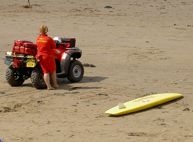 Poised for land and sea rescue