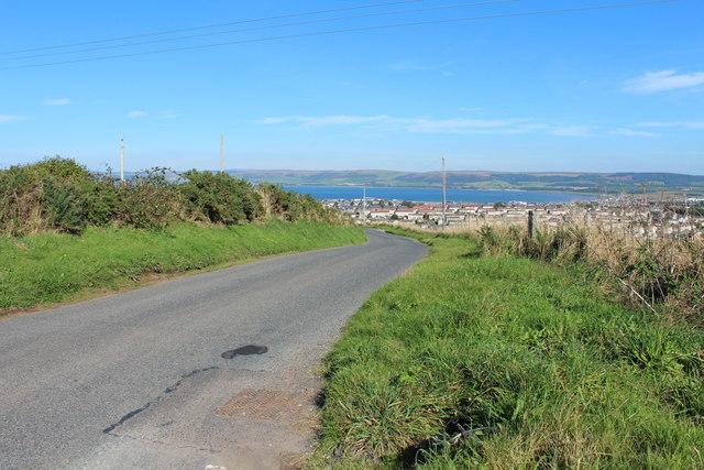 Road to Stranraer