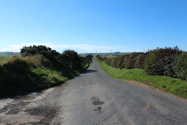Road to Portpatrick