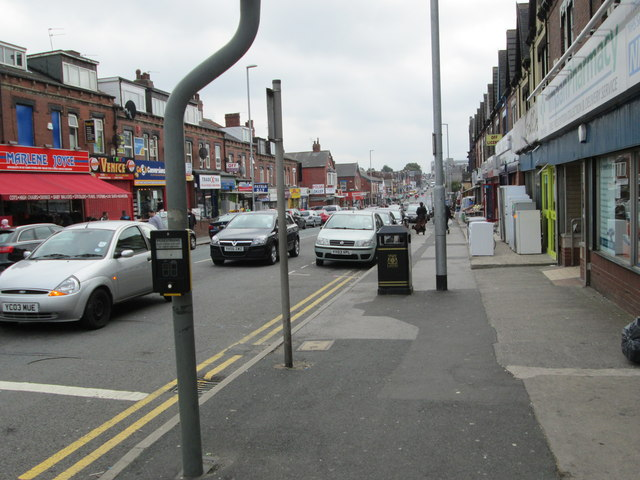 Harehills Lane - viewed from Strathmore Drive