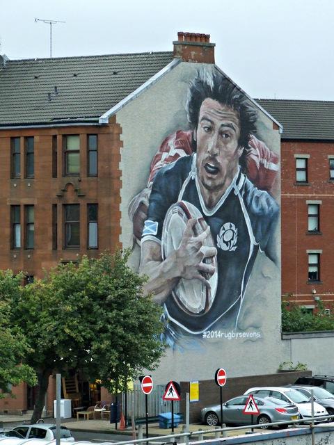 2014 Commonwealth Games murals, Partick
