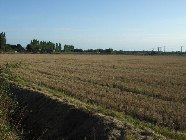 Farmland off Punchbowl Lane