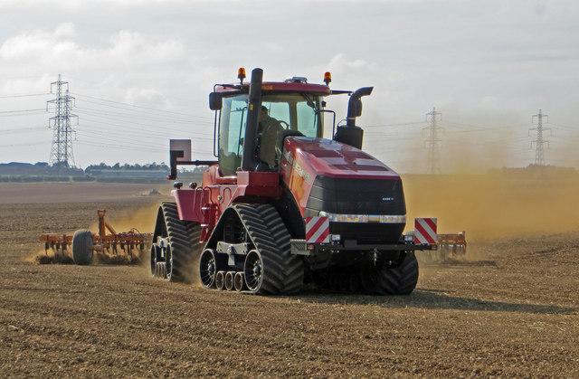 Field Preparation near North Wold Farm
