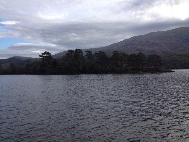 Eilean Camas Drollaman, Loch Shiel