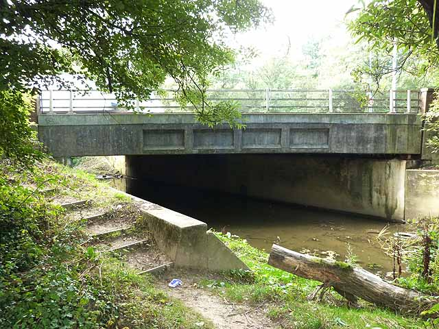 A23 bridge over the River Mole