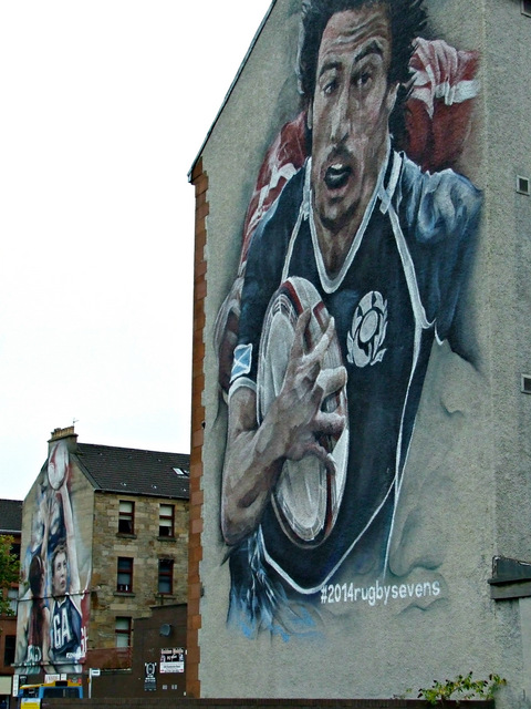 2014 Commonwealth Games murals, Partick