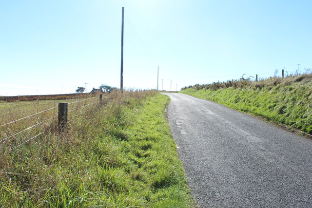 Road to Portpatrick near Auchtralure