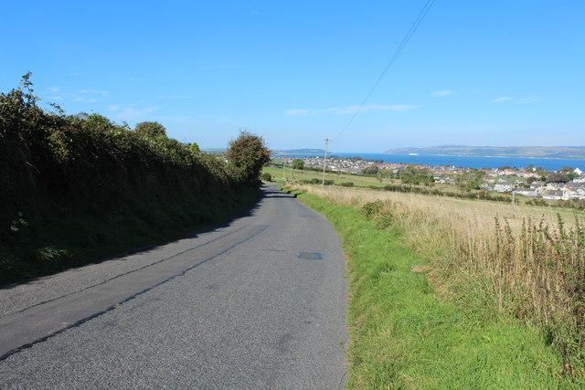 Road to Stranraer near Ochtrelure