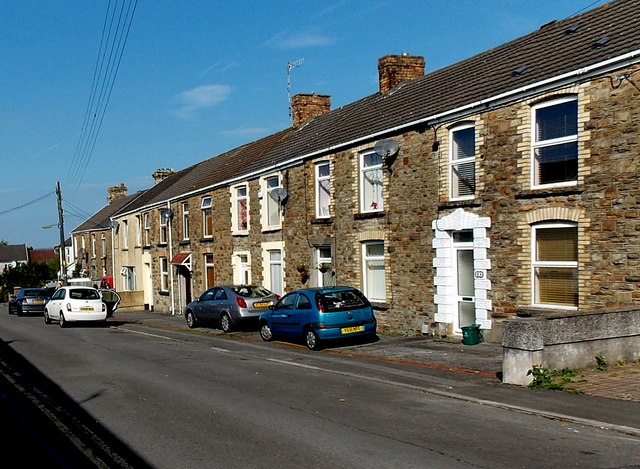 Church Street houses, Gowerton