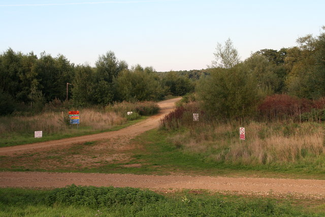 Track to the quarry and The Decoy