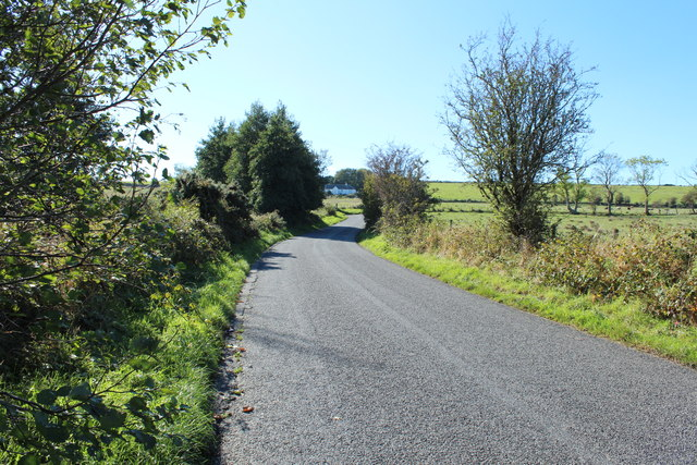 Road to Portpatrick near Ochtrelure
