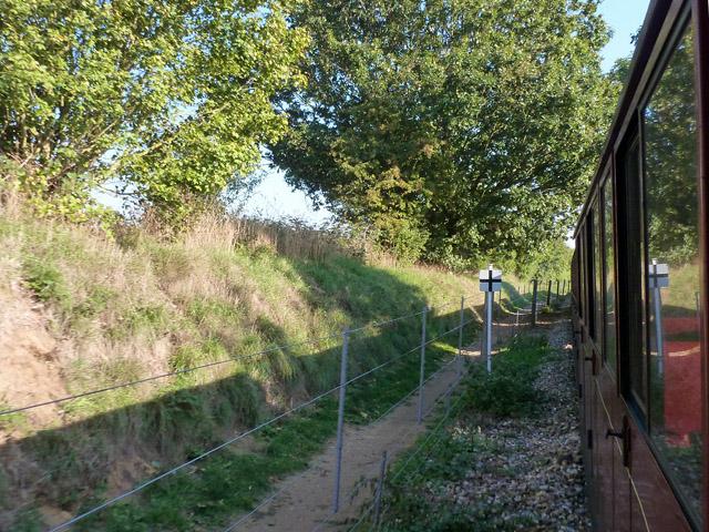 Footpath by Bure Valley Railway