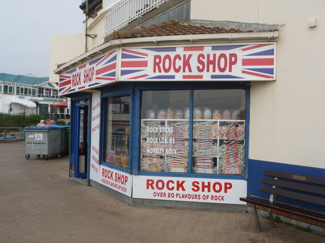 Bournemouth: the Rock Shop