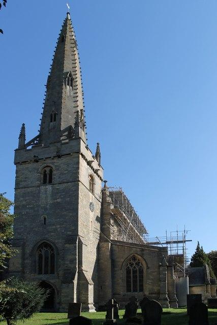 St Chad's church, Welbourn