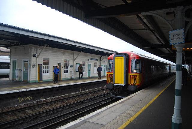 Train, Three Bridges Station