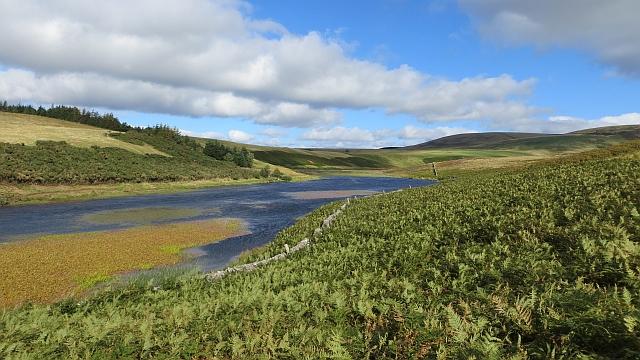 Head of Threipmuir Reservoir