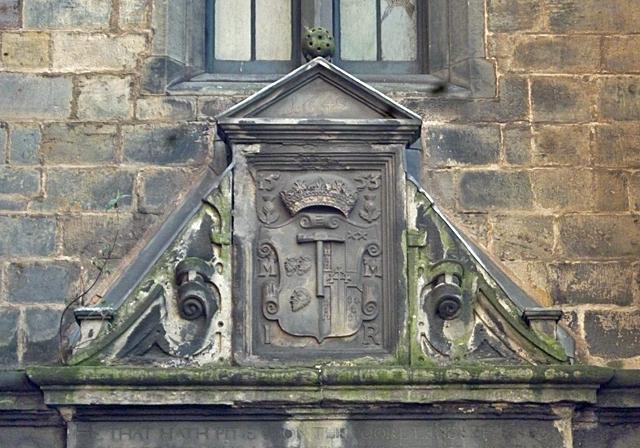 Magdalen Chapel Pediment