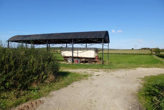 Barn along the Pocklington Road