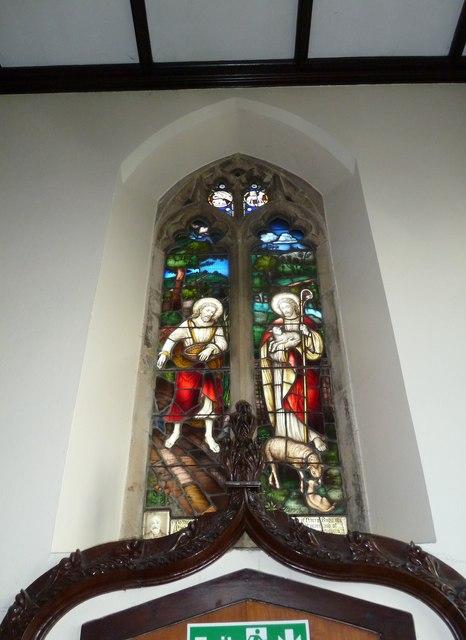 St Mary, Stalbridge: stained glass window (i)