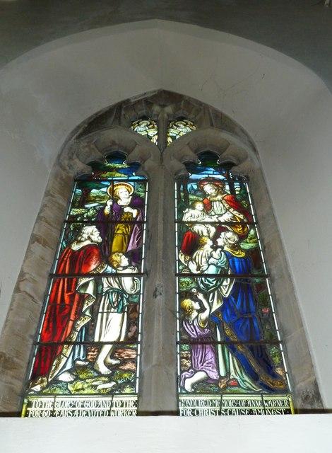 St Mary, Stalbridge: stained glass window (ii)