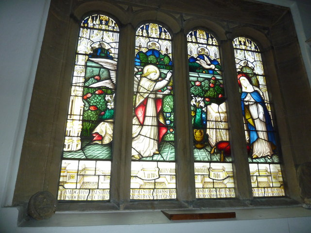 St Mary, Stalbridge: stained glass window (iii)