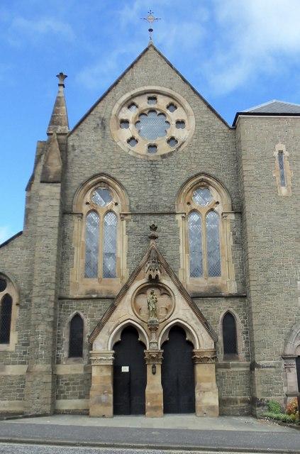 St Mary's Catholic Church, Patrick Street, Greenock - 2