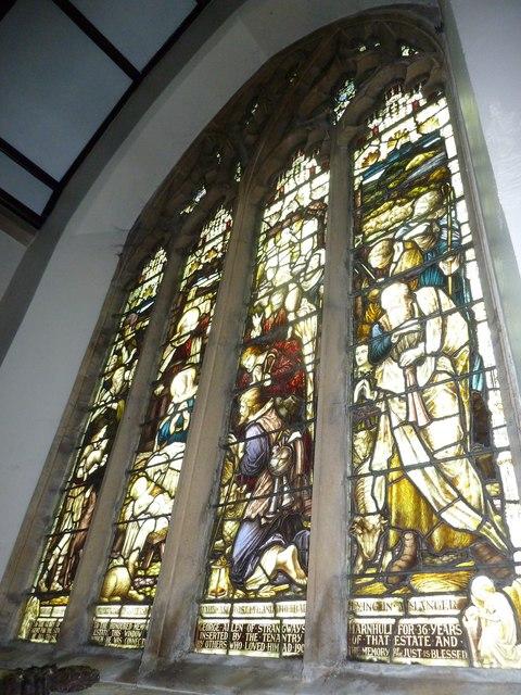 St Mary, Stalbridge: stained glass window (iii)