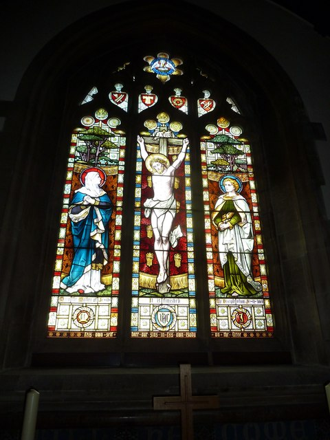 St Mary, Stalbridge: stained glass window (iv)