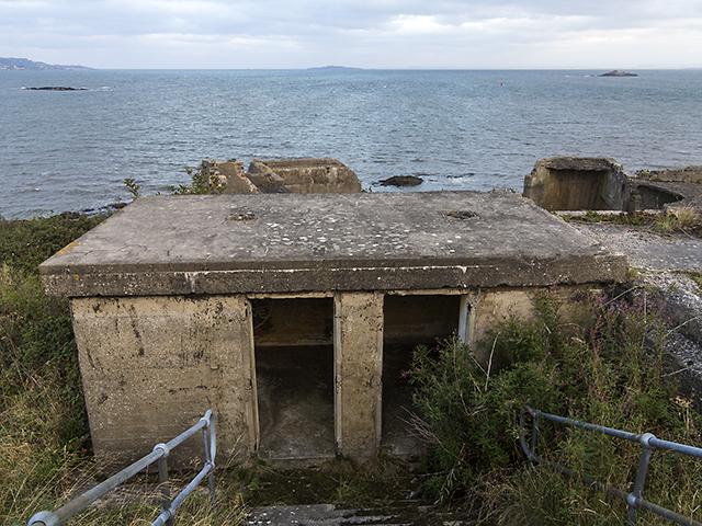 Coastal battery at Charles Hill
