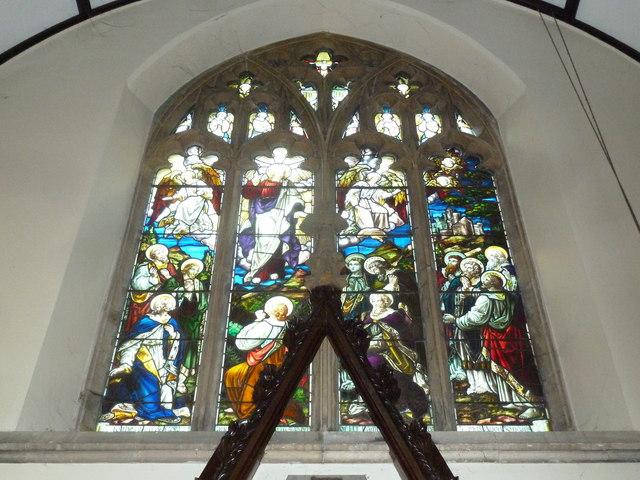St Mary, Stalbridge: stained glass window (vi)