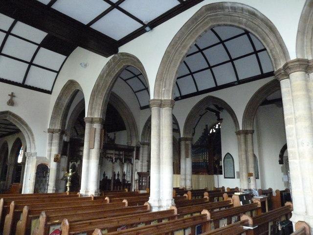 Inside St Mary, Stalbridge (I)