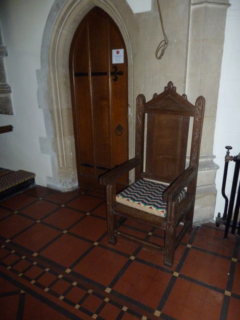 Inside St Mary, Stalbridge (II)