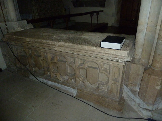 Inside St Mary, Stalbridge (III)