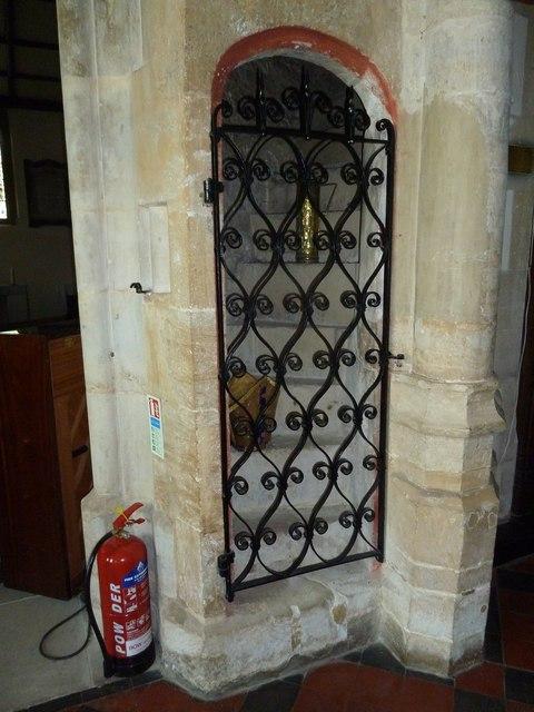 Inside St Mary, Stalbridge (IV)