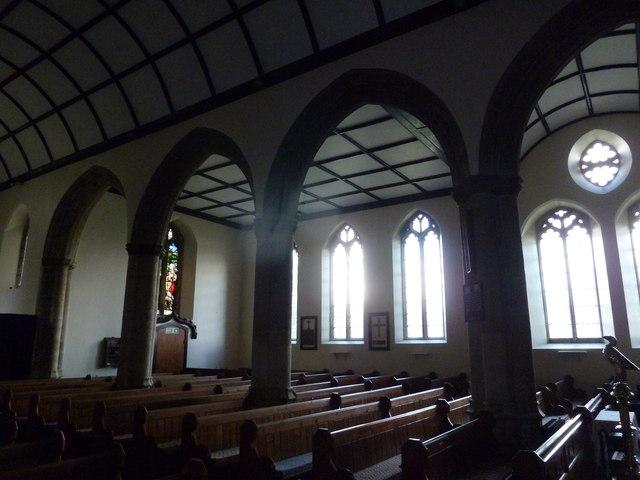 Inside St Mary, Stalbridge (VII)